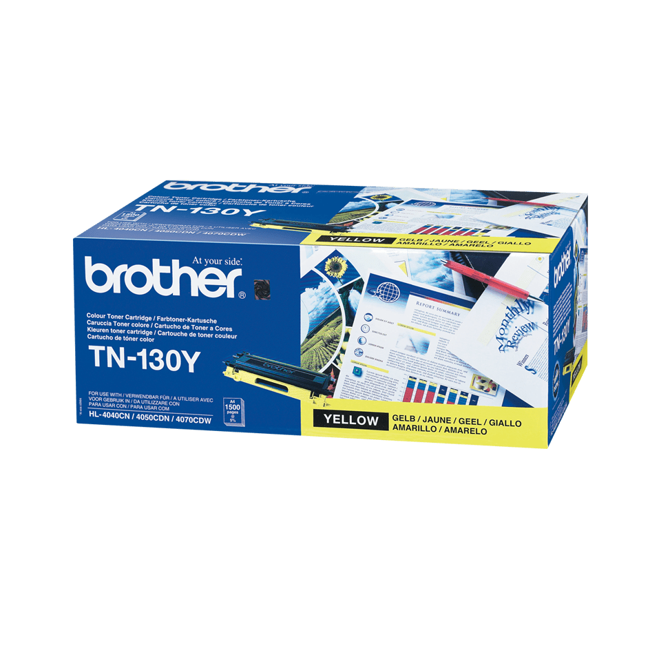 Genuine Brother TN-130Y Toner Cartridge – Yellow