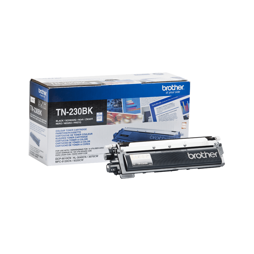 Genuine Brother TN-230BK Toner Cartridge – Black