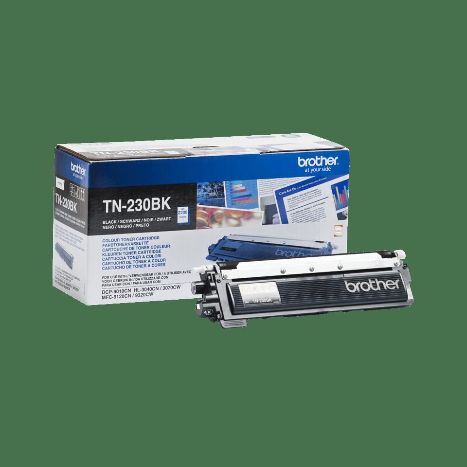 Genuine Brother TN-230BK Toner Cartridge – Black