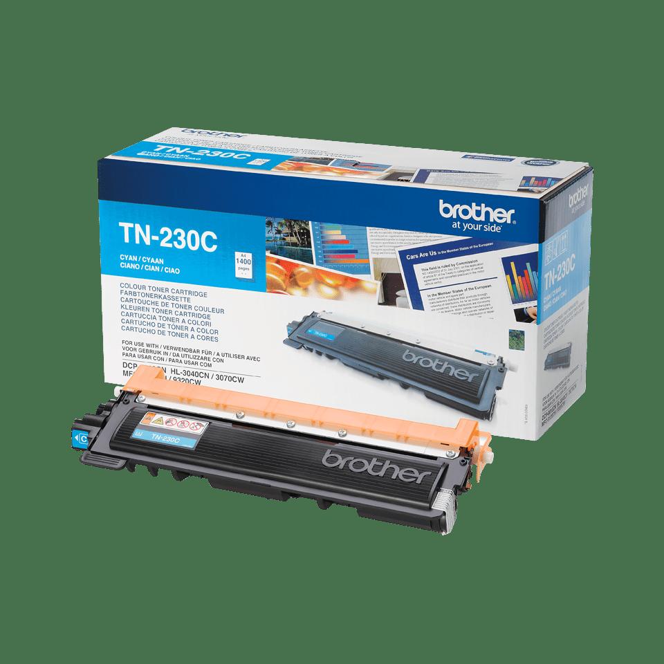 Genuine Brother TN-230C Toner Cartridge – Cyan 2