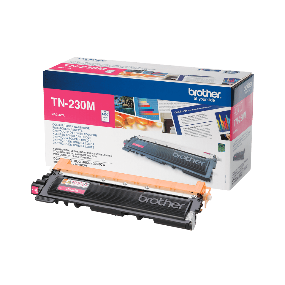 Genuine Brother TN-230M Toner Cartridge – Magenta 2