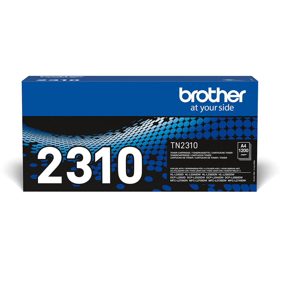 Genuine Brother TN-2310 Toner Cartridge – Black