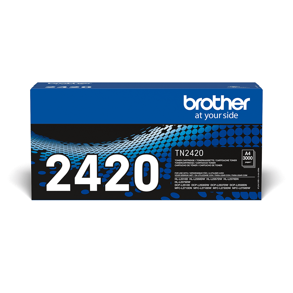Genuine Brother TN-2420 Toner Cartridge - Black