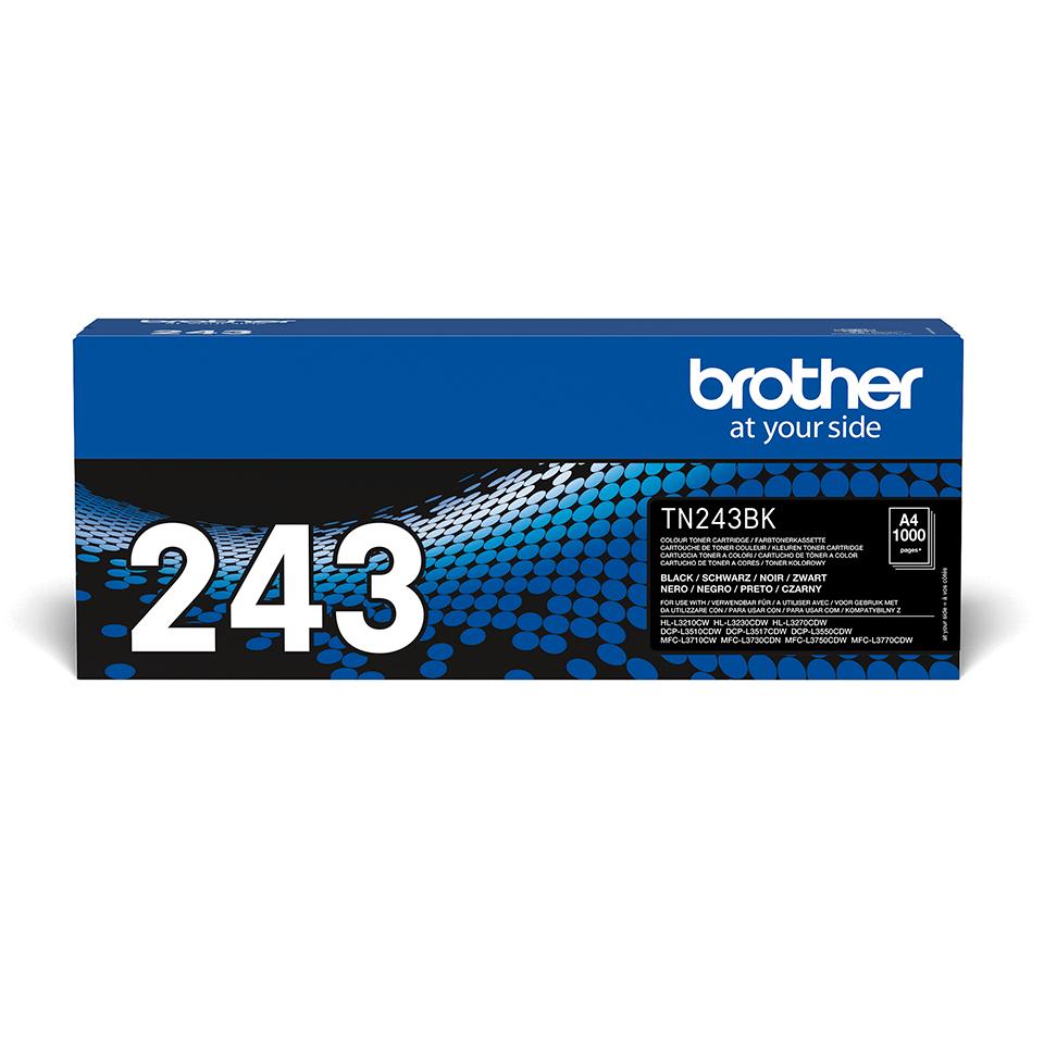 Genuine Brother TN-243BK Toner Cartridge - Black