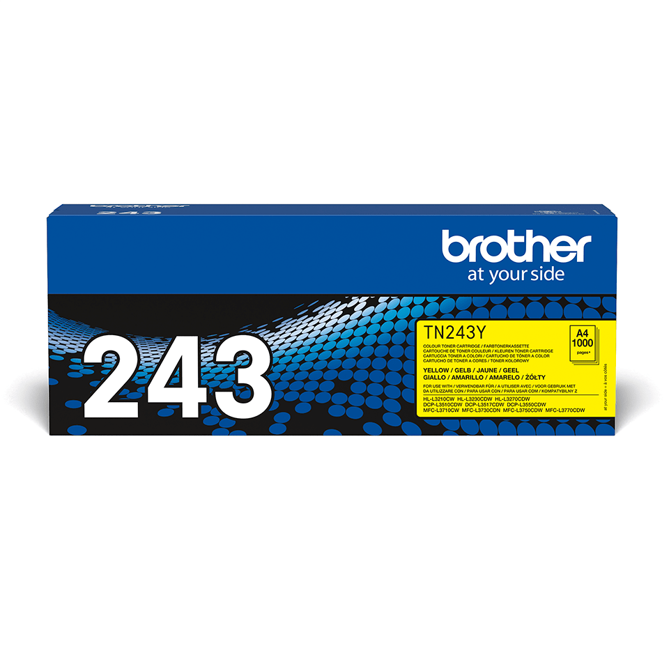Genuine Brother TN-243Y Toner Cartridge - Yellow