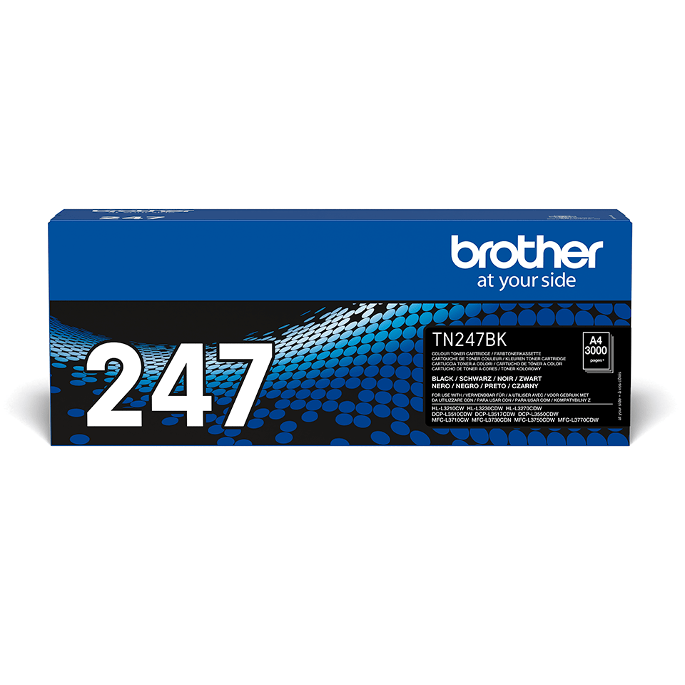 Genuine Brother TN-247BK Toner Cartridge - Black