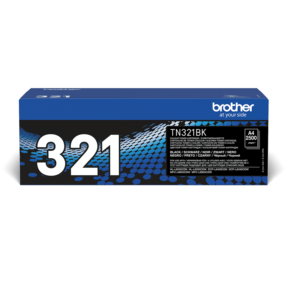 Genuine Brother TN-321BK Toner Cartridge – Black