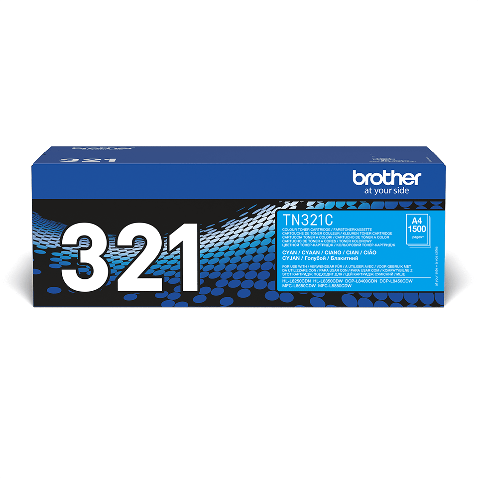 Genuine Brother TN-321C Toner Cartridge – Cyan