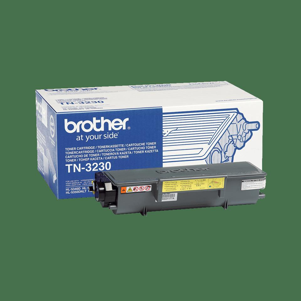 Genuine Brother TN-3230 Toner Cartridge – Black