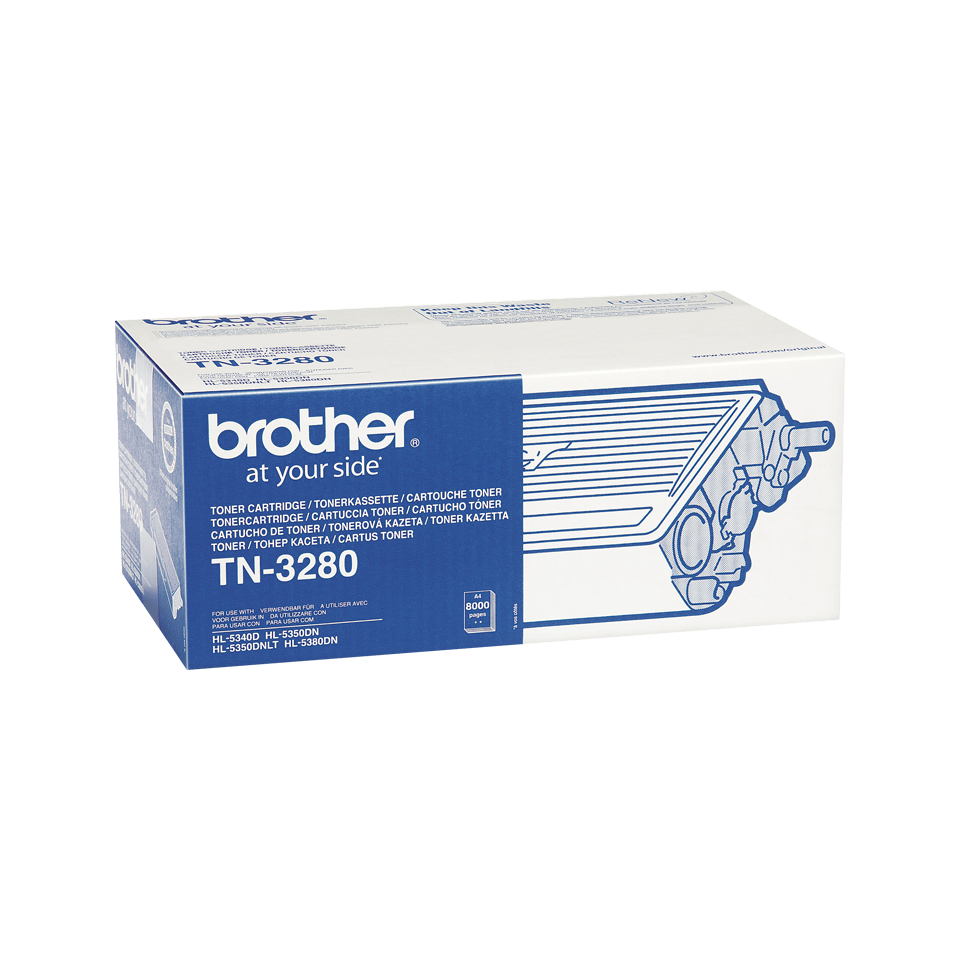 Genuine Brother TN-3280 High Yield Toner Cartridge – Black 2