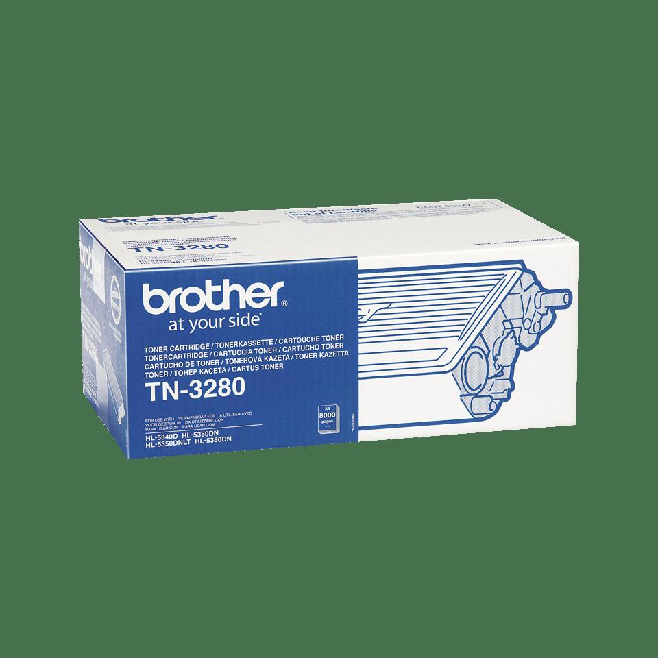 Genuine Brother TN-3280 High Yield Toner Cartridge – Black 1