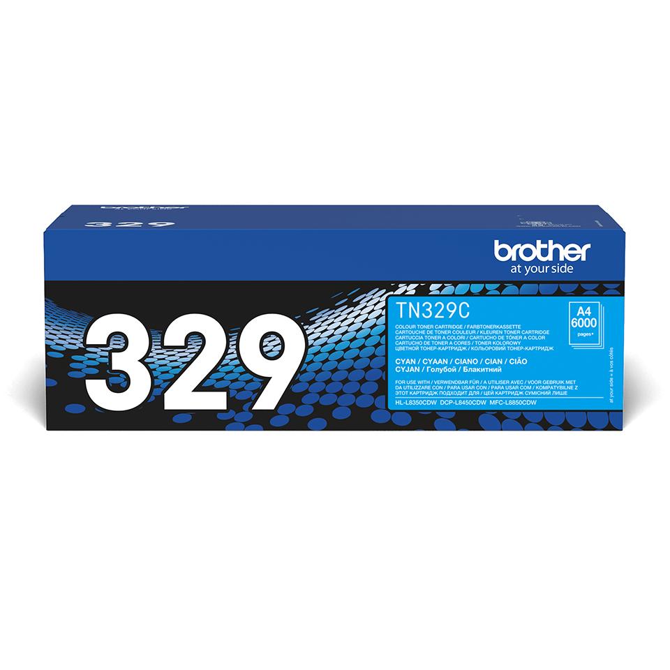 Genuine Brother TN-329C Toner Cartridge – Cyan