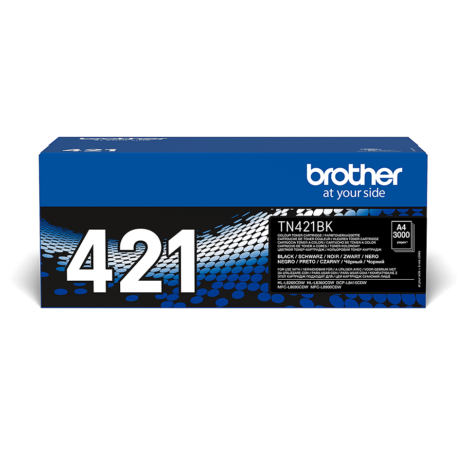 Genuine Brother TN-421BK Toner Cartridge – Black