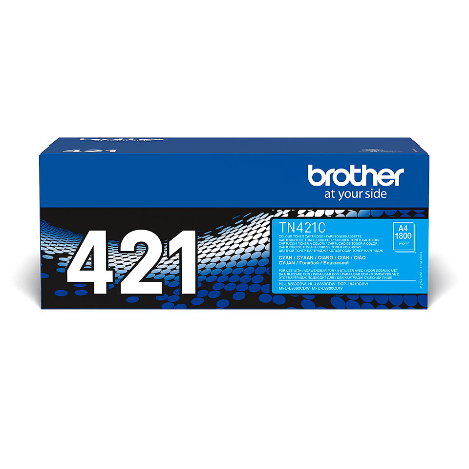 Genuine Brother TN-421C Toner Cartridge – Cyan