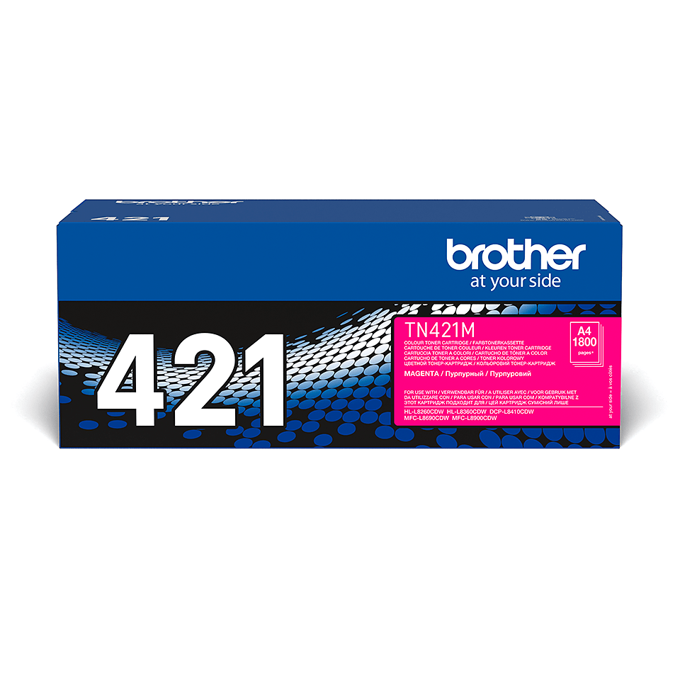 Genuine Brother TN-421M Toner Cartridge – Magenta 2