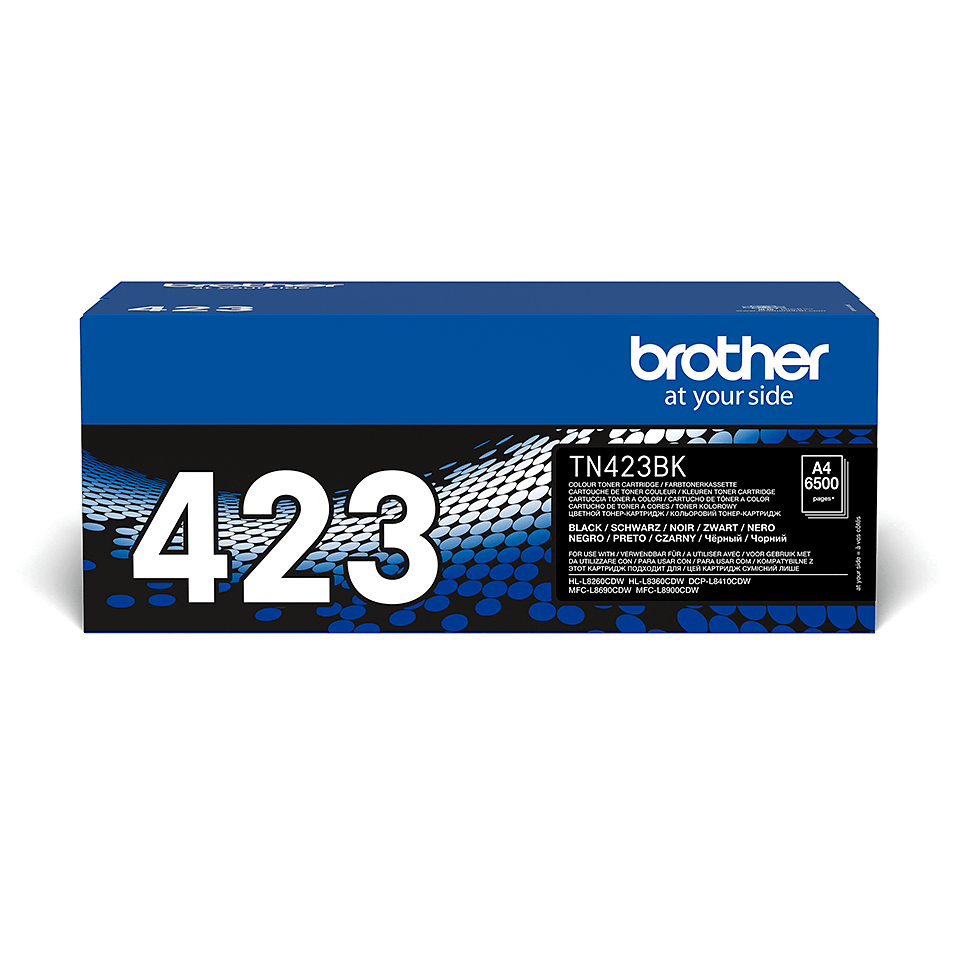 Genuine Brother TN-423BK Toner Cartridge – Black