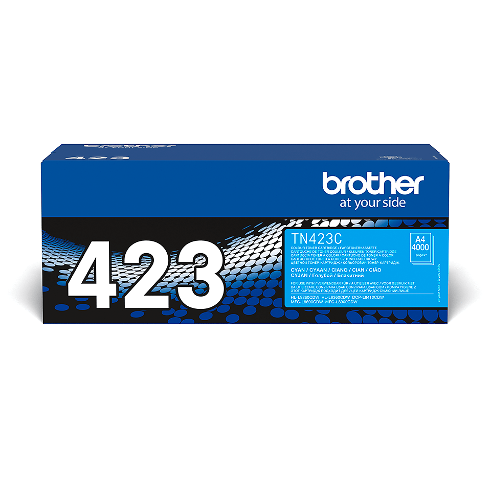 Genuine Brother TN-423C Toner Cartridge – Cyan