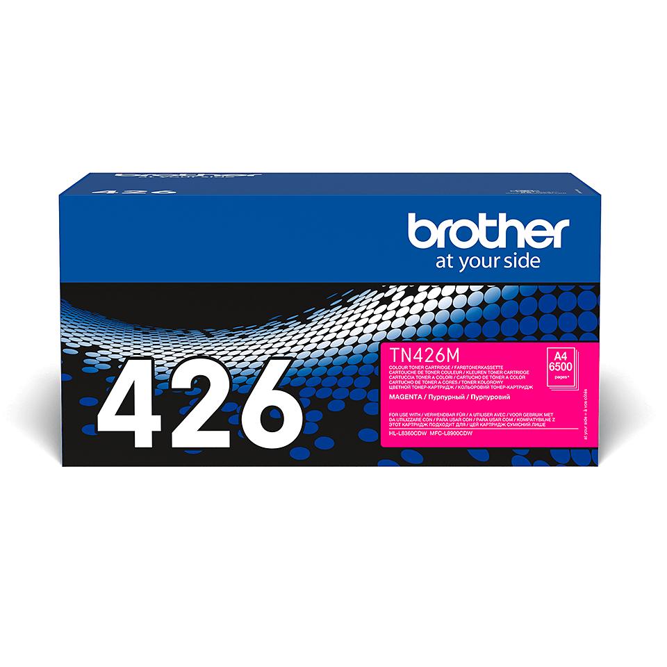 Genuine Brother TN-426M Toner Cartridge – Magenta
