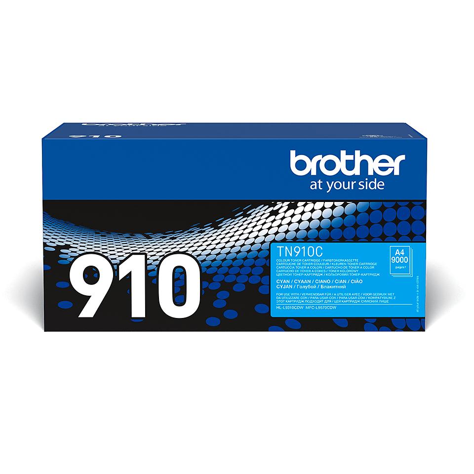 Brother TN-910C Toner Cartridge - Cyan