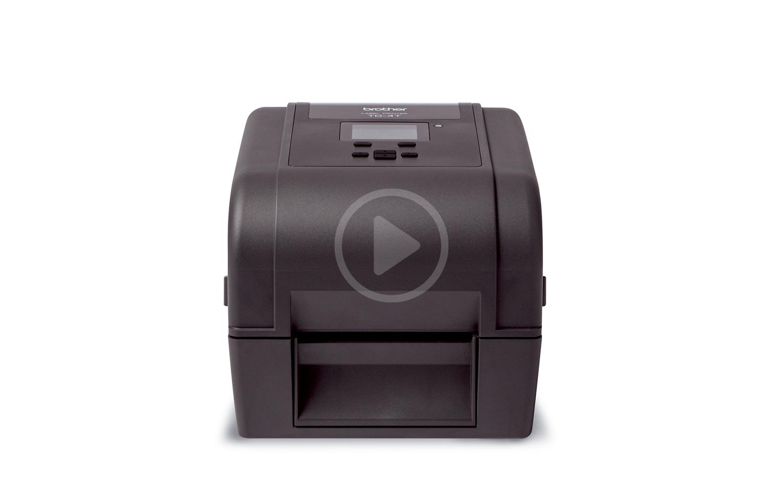 Brother TD-4650TNWBR Desktop Label Printer 6