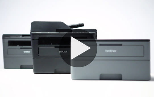 Compact 3-in-1 Mono Laser Printer - Brother DCPL2510D 4