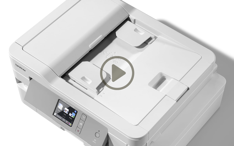 DCP-J1100DW All In Box Bundle. Wireless 3-in-1 Colour Inkjet Printer  10