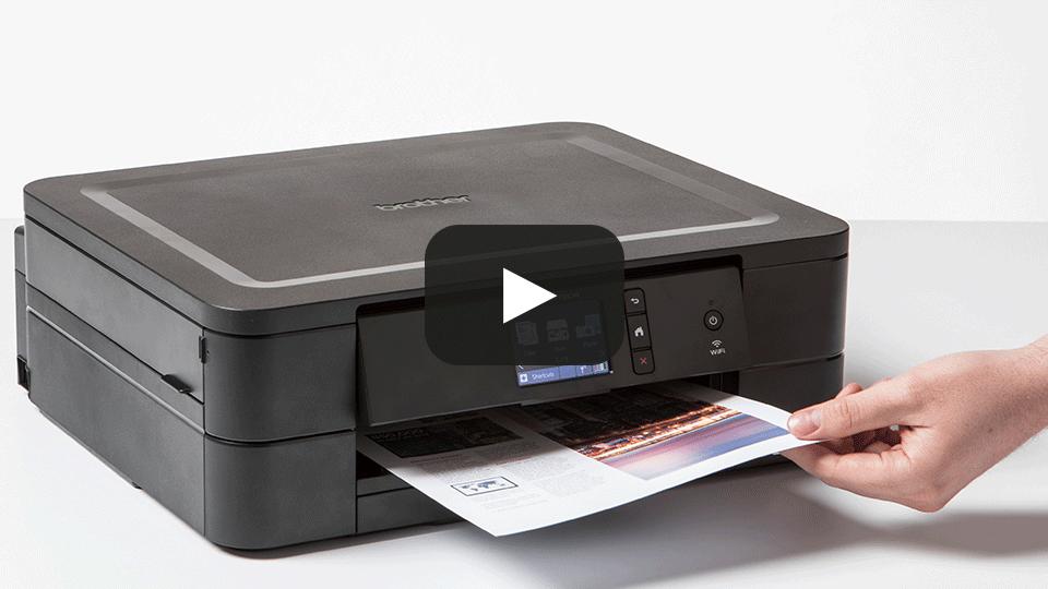 Wireless 3-in-1 colour inkjet printer DCP-J772DW 7