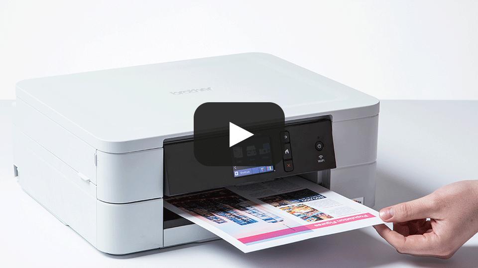 Wireless 3-in-1 colour inkjet printer DCP-J774DW 7